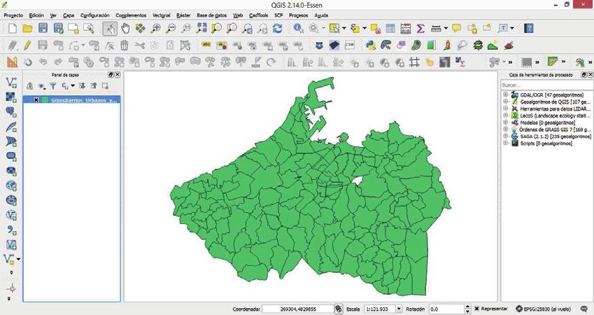 Capacitación en el Sistema de Información Geográfico